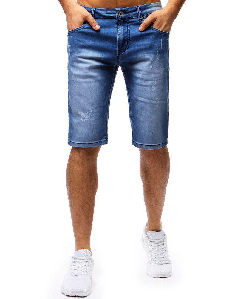 jeansowe spodenki na lato