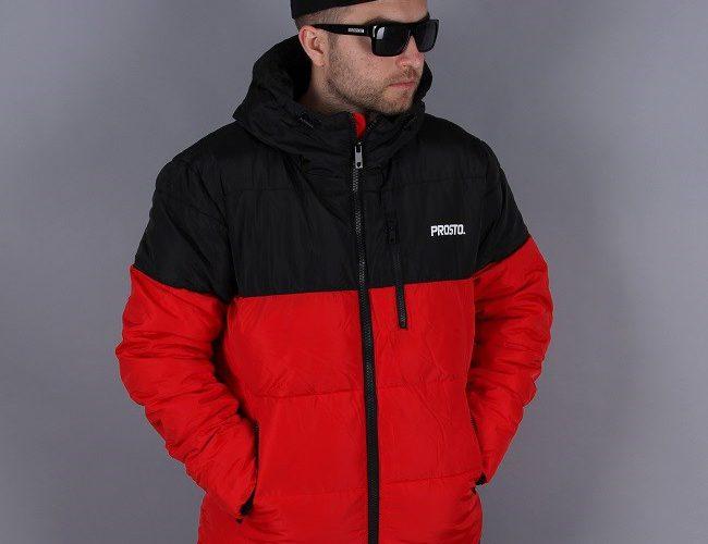 kurtka zimowa prosto