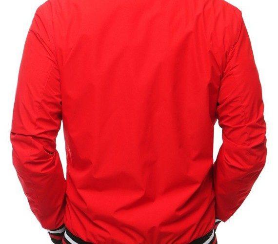 czerwona kurtka wiosenna męska