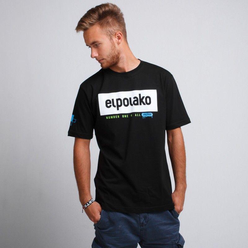 koszulka męska z logo El-Polako